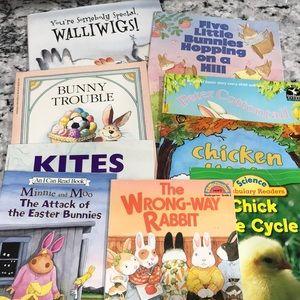 9 Chicken & Rabbit Kids Books